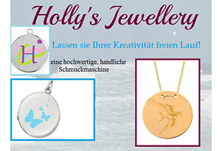 Screenshot der Webseite von Holly's Jewellery