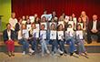 Gruppenbild vom Team der Schülerfirma Sunflower